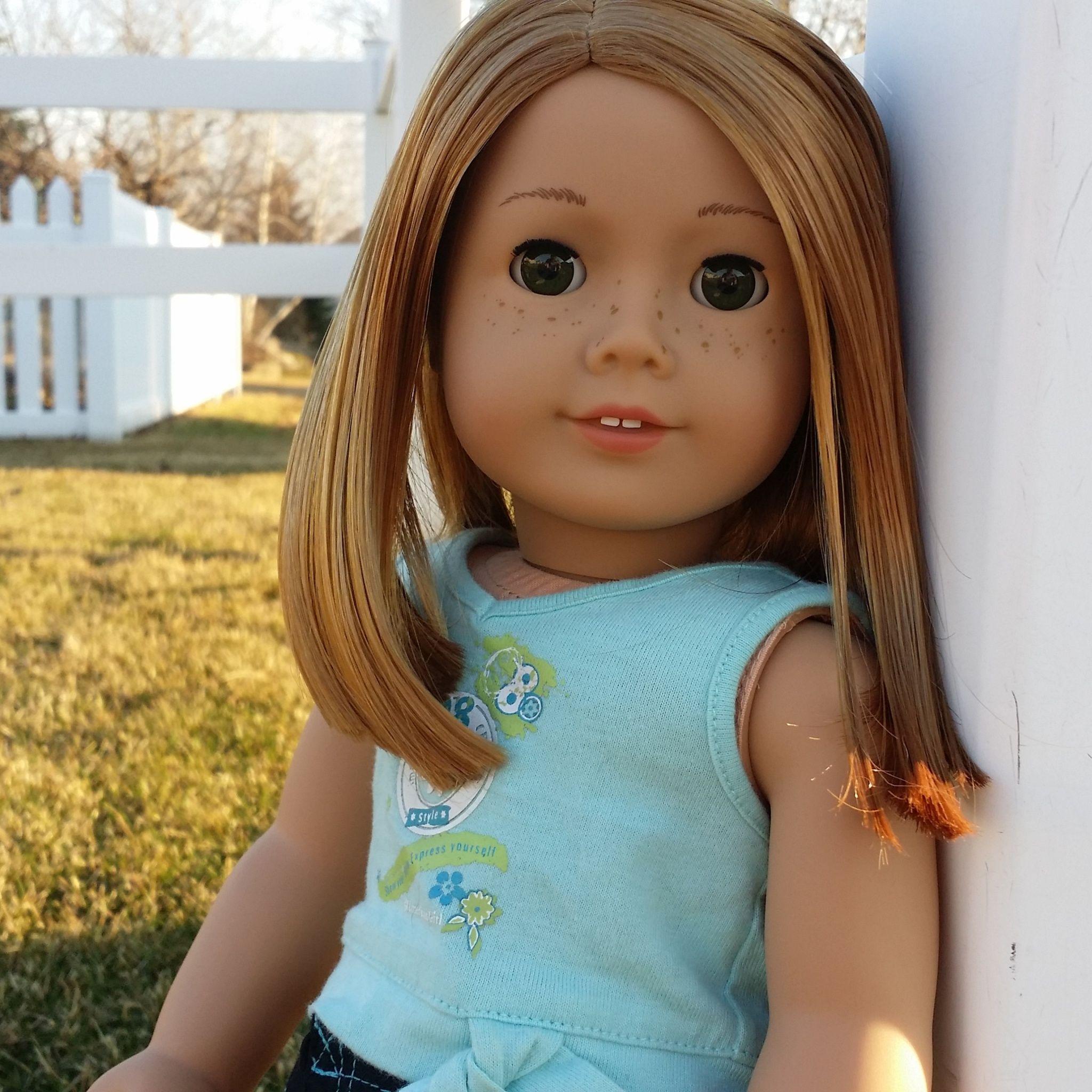 Red hair freckles green eyes