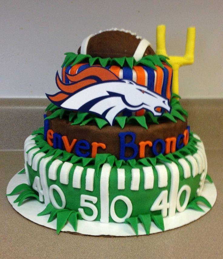 Denver Broncos Cake Cake Recipe