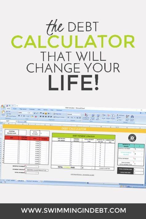 Paying Off The Debt  Part   Calculator Debt And Change
