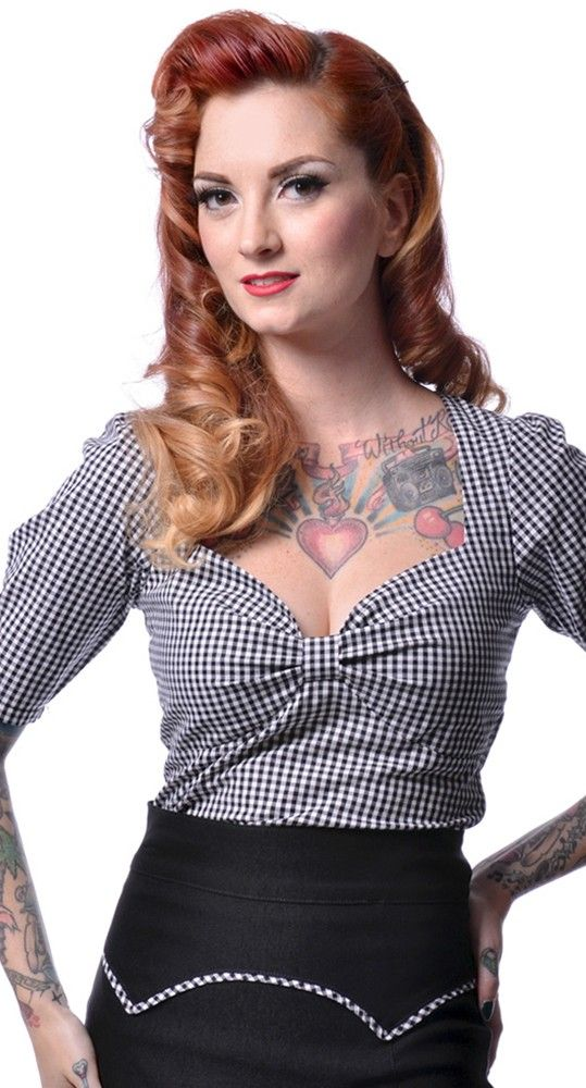 Dorothy top from Blame Betty