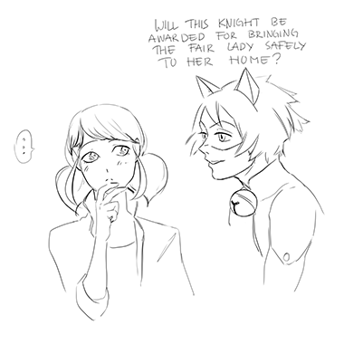Miraculous Ladybug News — marinette-adrien: tigercake: … who asked for...