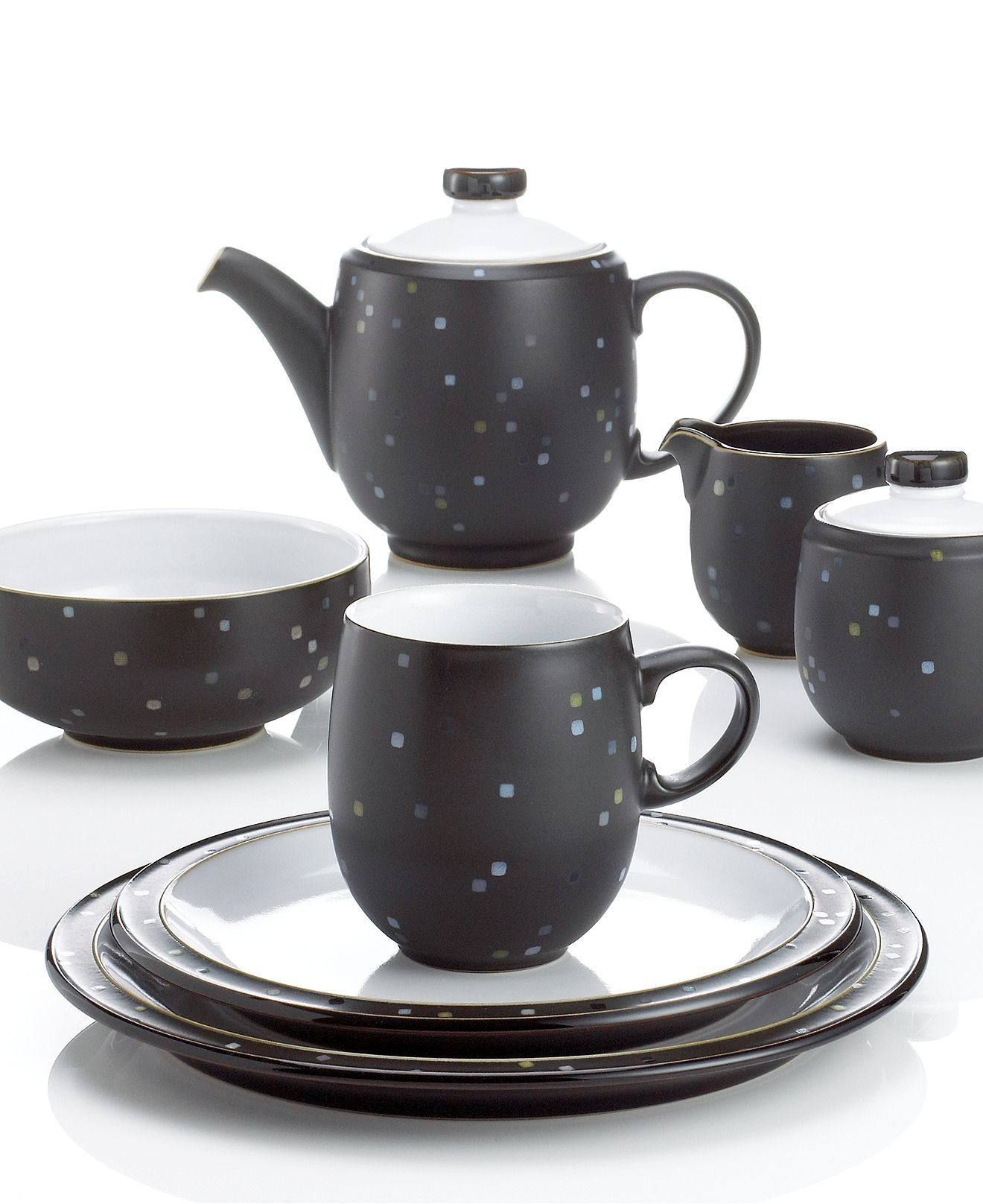 Denby Dinnerware Jet Skyline Collection - Casual Dinnerware - Dining \u0026 Entertaining - Macy\u0027s  sc 1 st  Pinterest & Denby Dinnerware Jet Skyline Collection - Casual Dinnerware ...