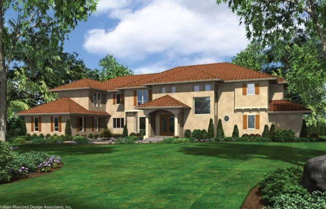 Mascord Plan 2454B - The Valencia - multigenerational house House