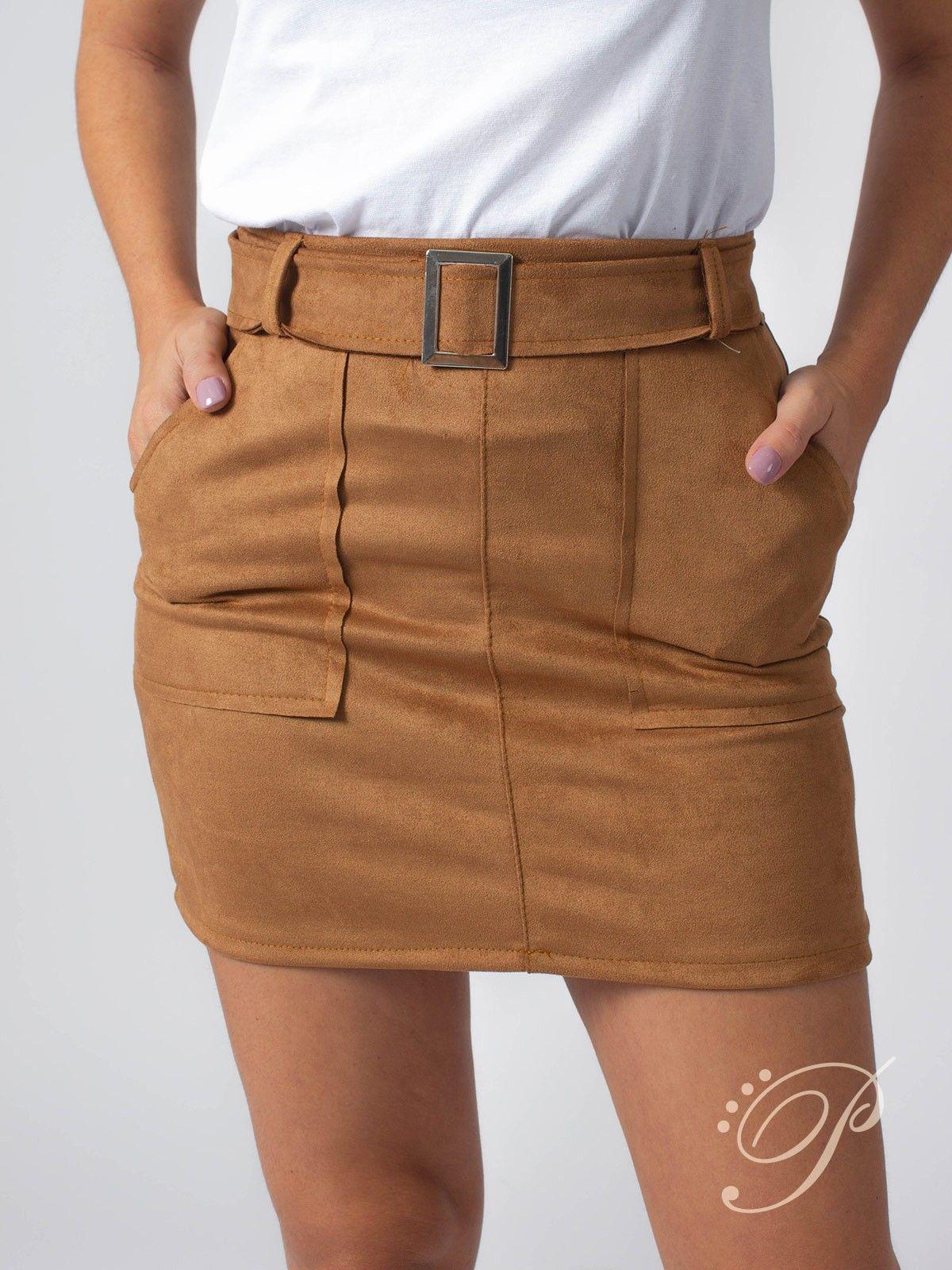 76b323cee Pin de Nidia Flores en Modas en 2019 | Faldas, Mini falda cuero y ...