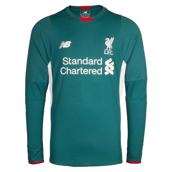 f5f6a0714 New Balance Liverpool 16 17 Goalkeeper Jersey (Green)