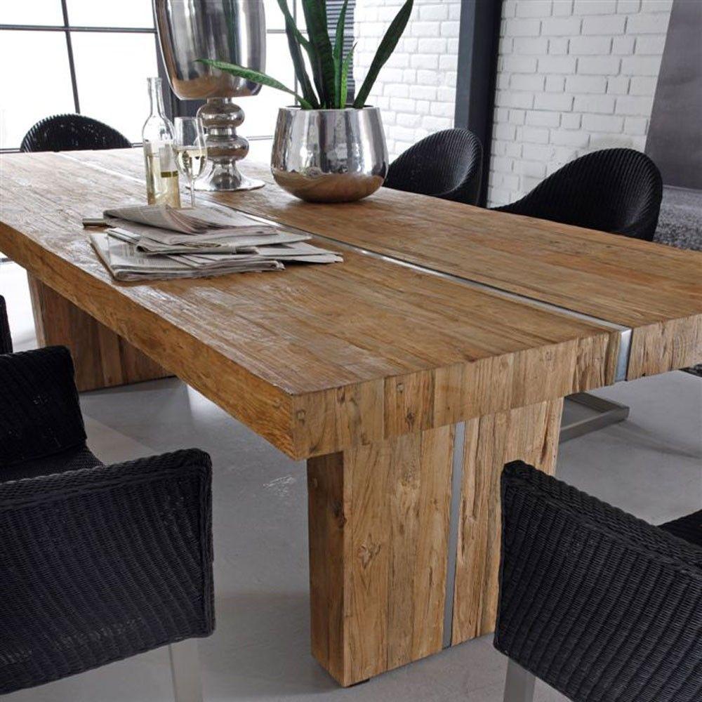 Genial Esstisch Teakholz Rustic dining table, Teak, Home