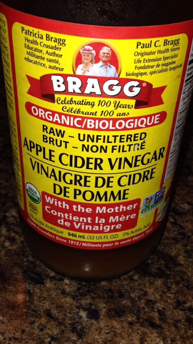 I use apple cider vinegar everyday. I dilute 1 to 2 tablespoons of ACV in