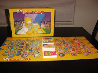 The Simpsons Battle Of The Sexes By University Games Game Museum