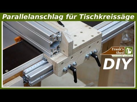 Photo of Build your own rip fence for a circular table saw | set up your workshop | Tutorial