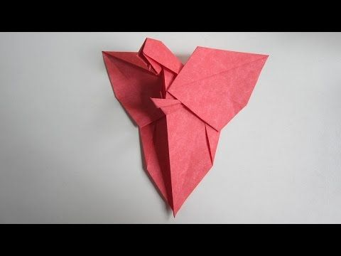 Tutorial Origami Angel I Creator The Late Mr Neal Elias