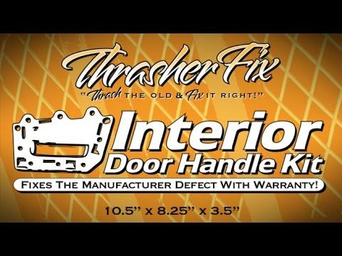 How to repair a Jeep Commander Door Handle, Fix, Install, Replace, Step by Step #Jeep #DIY #Repair #ThrasherProducts #ThrasherFix #OriginalInventor #Commander