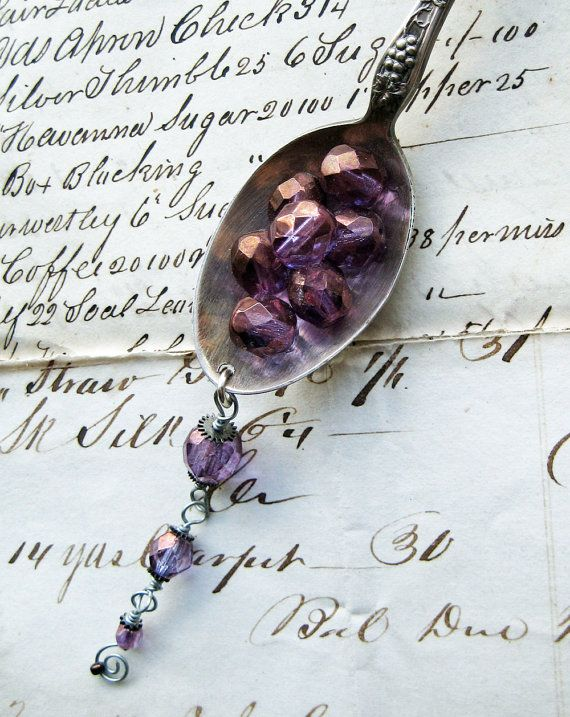 dripping grapes necklace