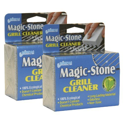 Compac Magic-Stone Grill Cleaner, 2 Count $9.49
