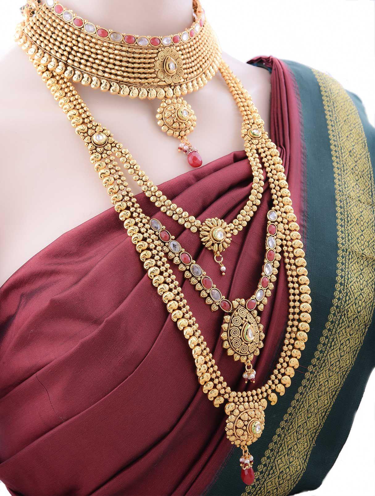 Jewellery Set For Wedding Online