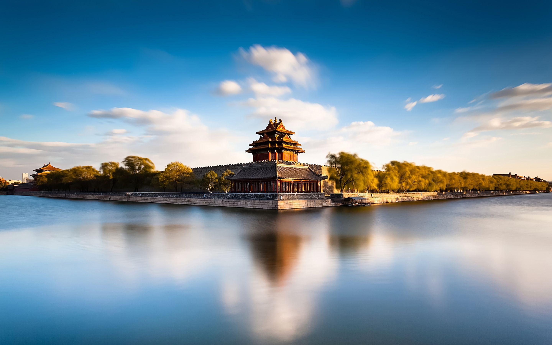 Desktophdwallpaper Org Travel Wallpaper Forbidden City Amazing Architecture