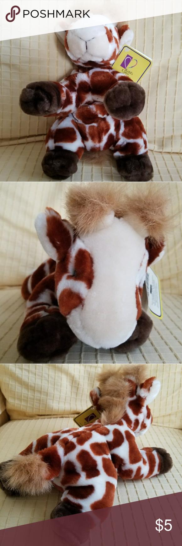 Adopt Me Giraffe Stuffed Animal Plush Toy Very Cute Giraffe