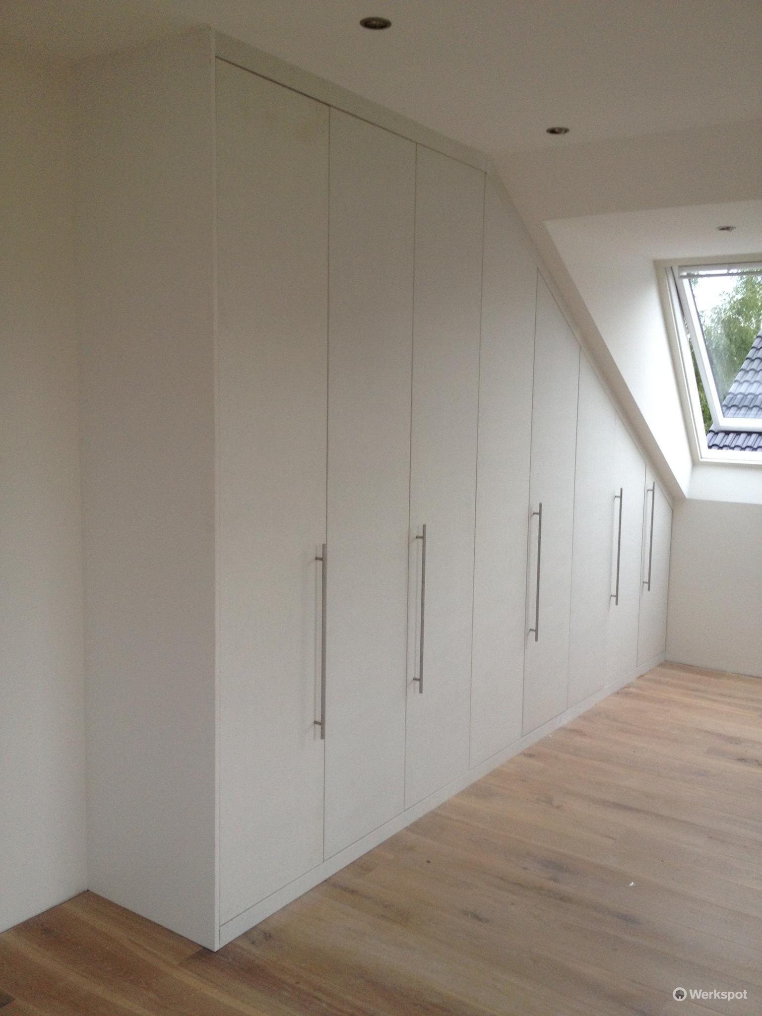Attic Bedroom Closet Ideas Slanted Walls