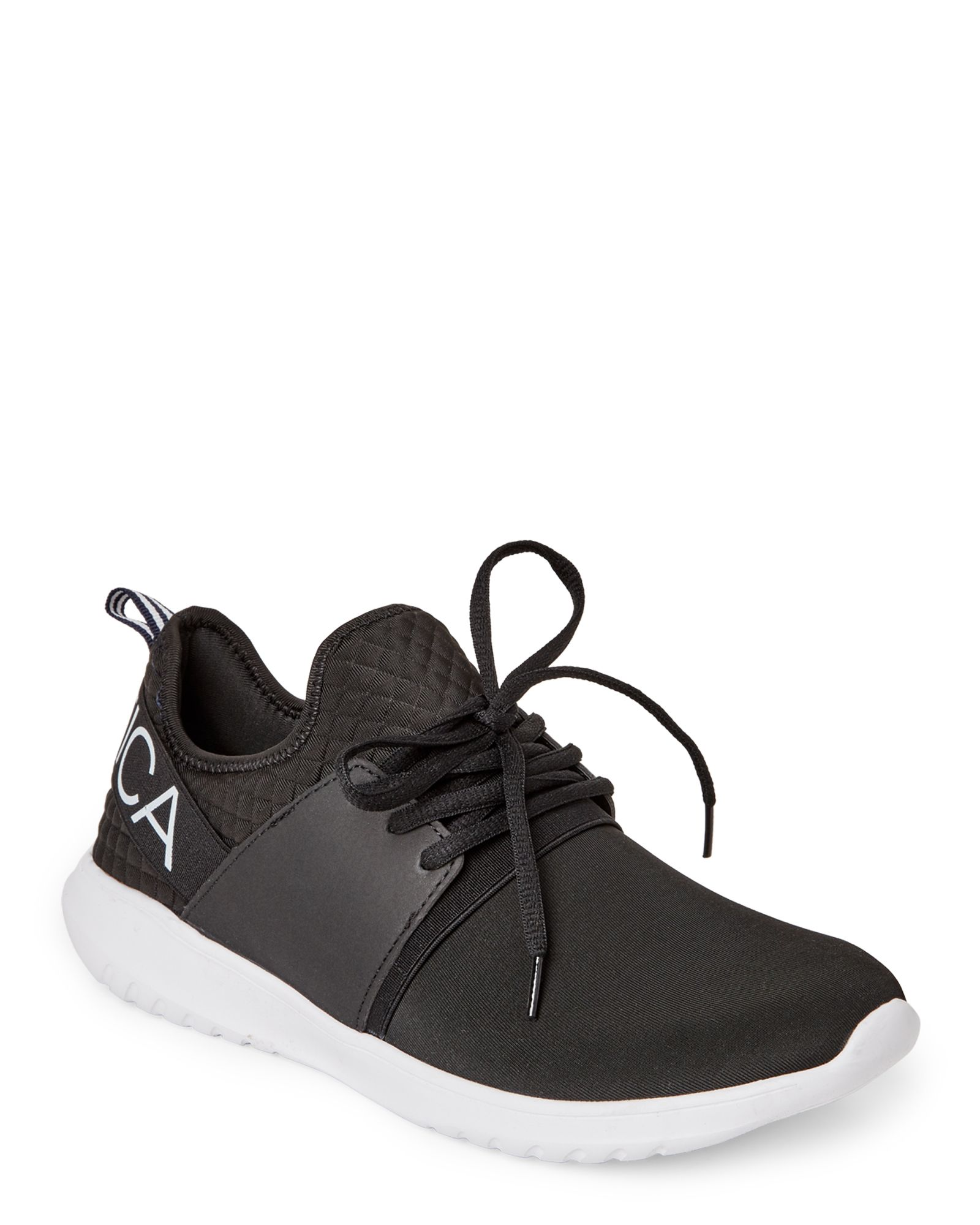 save off 83db7 8c89f Nautica Black Kappil Jogger Sneakers