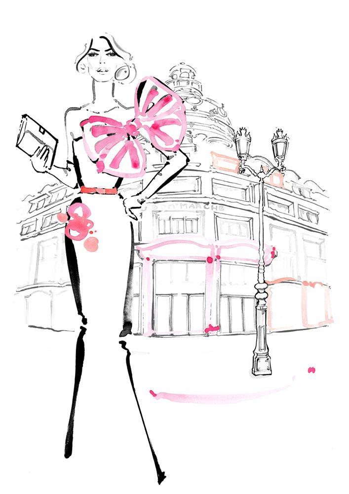 Image of 'au bon marché'   Kerrie Hess