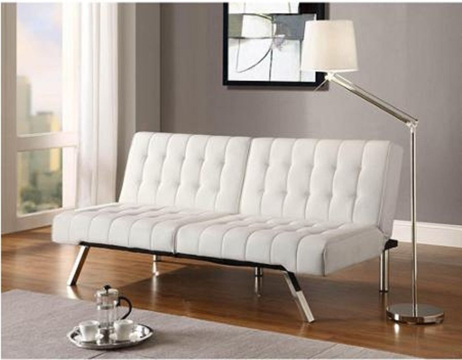 convertible leather sofa futon couch bed sleeper modern living room furniture convertible leather sofa futon couch bed sleeper modern living      rh   pinterest