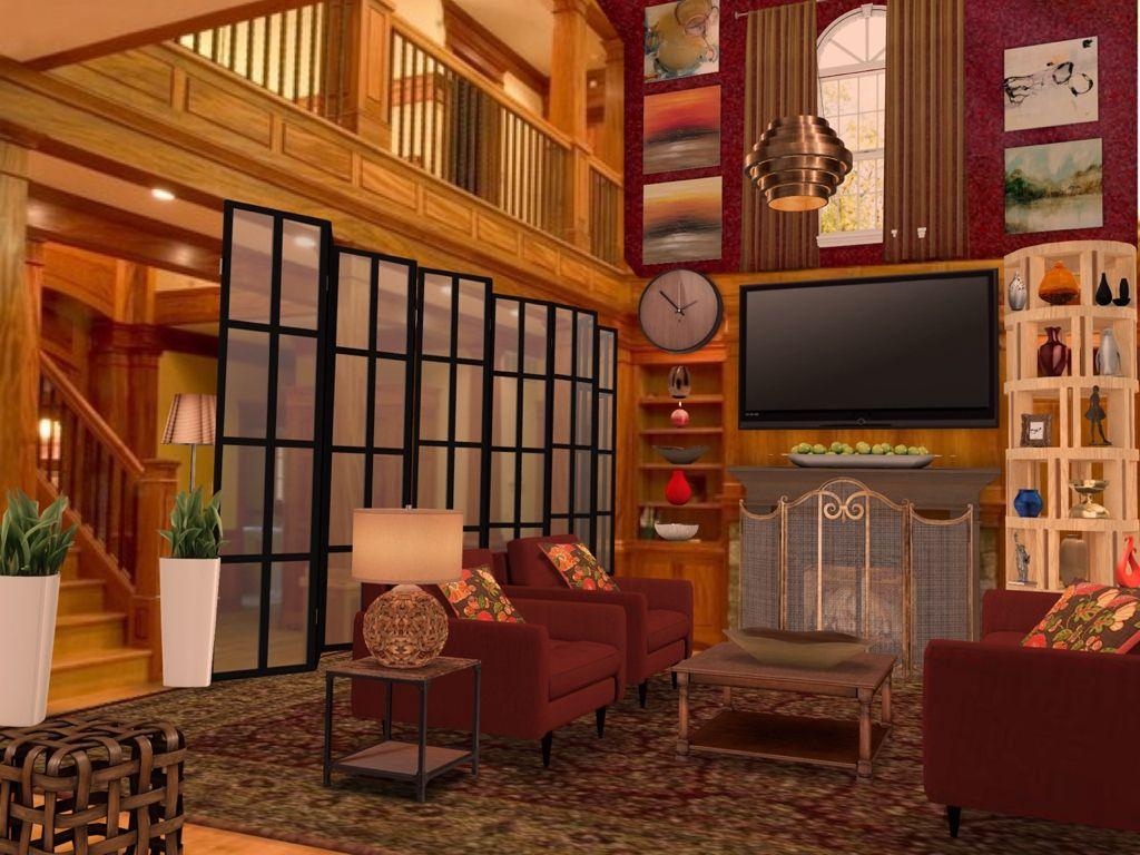 Gridscape Series Room Divider via Homestyler app For IOS
