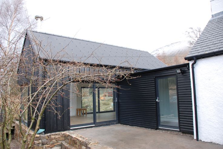 Black Corrugated Roof Google Search House Cladding Old Stone Houses Corrugated Roofing