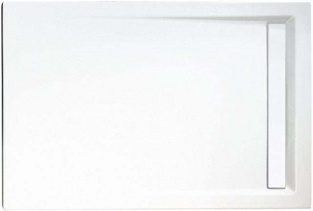 Set Duschwanne Extra Flach Rechteckig Mit Rinne Verschiedene