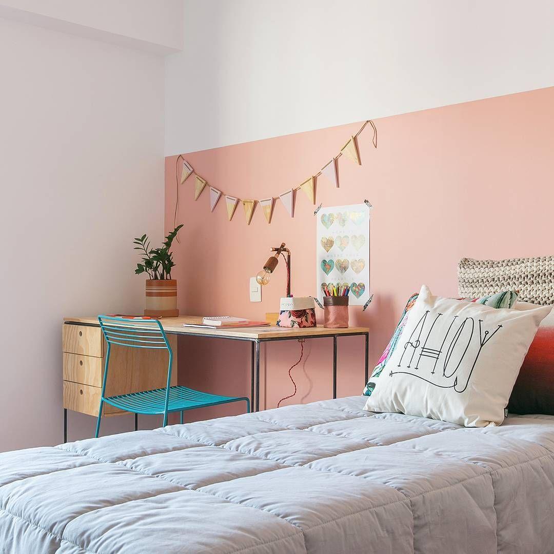 4 696 Likes 37 Comments Historias De Casa Historiasdecasa On Instagram Quer D Decoracion De Paredes Dormitorio Pintar Habitacion Habitaciones Juveniles