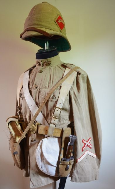 42e3a166d5856 Boer War Kit mrmelvillmilitaria collection 2017 British Army Uniform