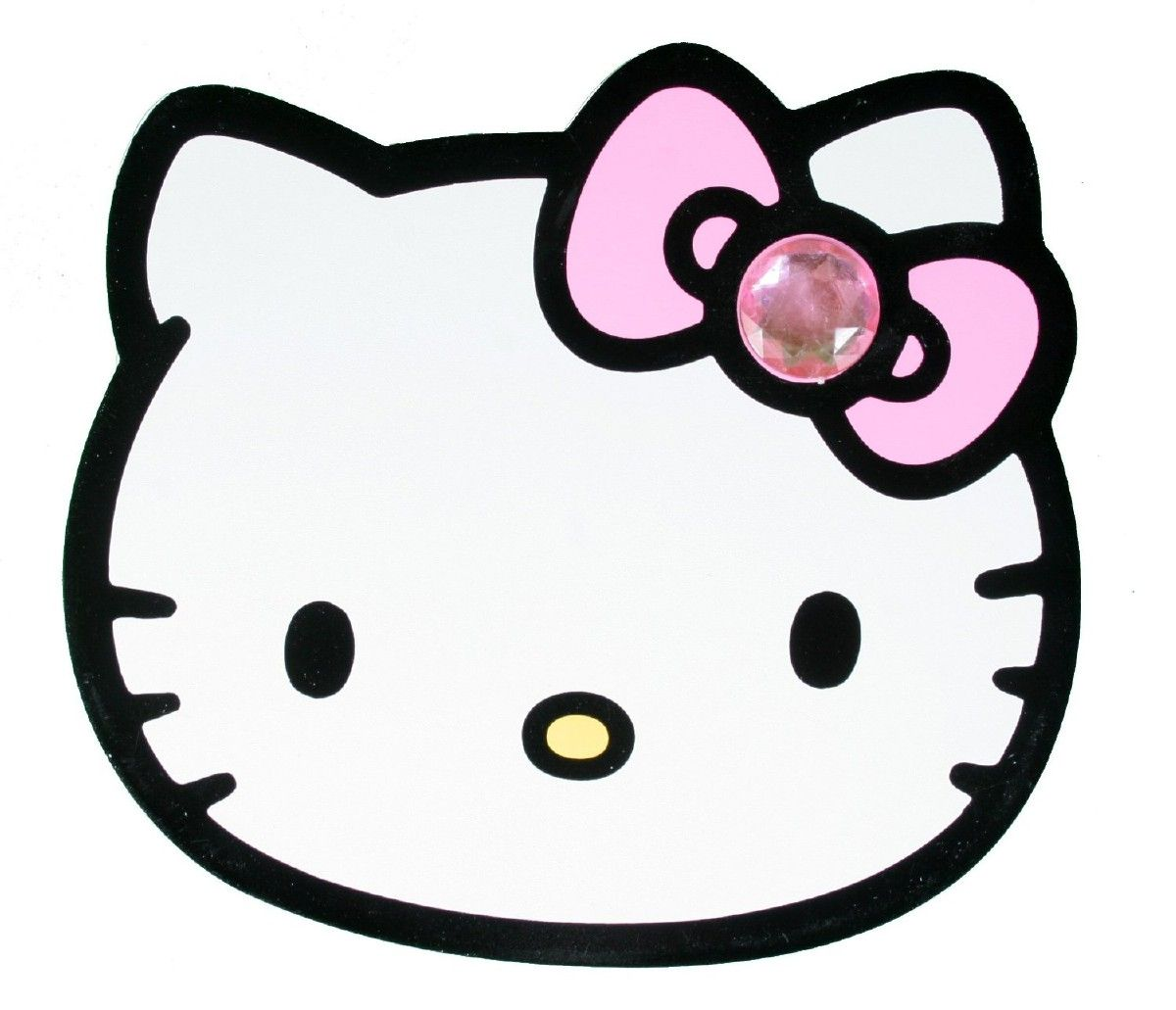 how to draw hello kitty face