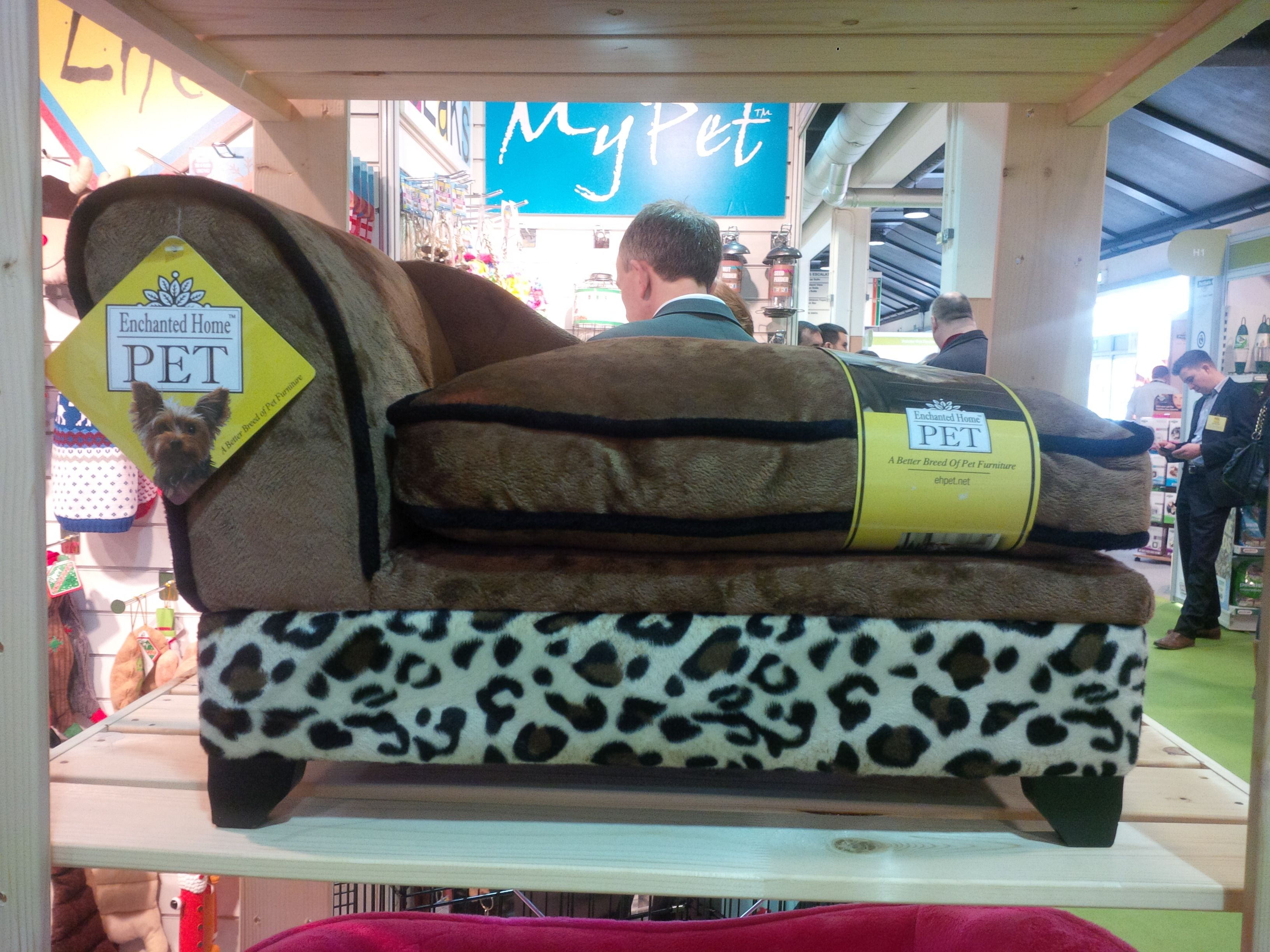 For an added bit of pooch pampering, the Pet Bed from James & Steel