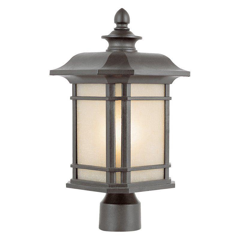 Trans Globe 5823 Post Lantern - 9W in. - 5823 RT