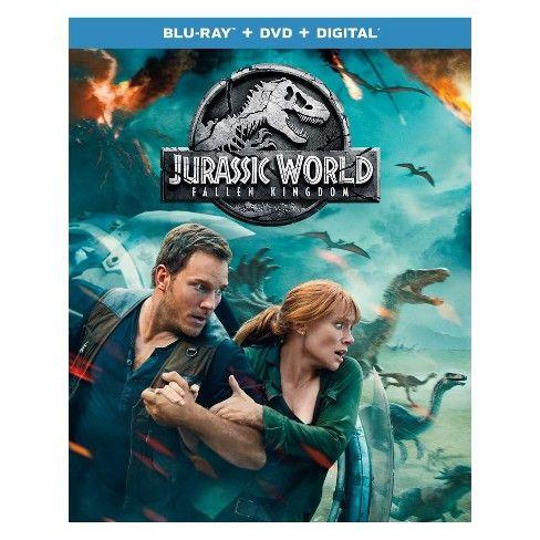 Jurassic World Fallen Kingdom Blu Ray Dvd Digital In 2021 Jurassic World Fallen Kingdom Kingdom Movie Falling Kingdoms