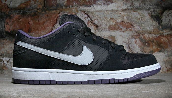 big sale 54fcd b445e Nike Dunk Low Pro SB - black  wolf grey  canyon purple