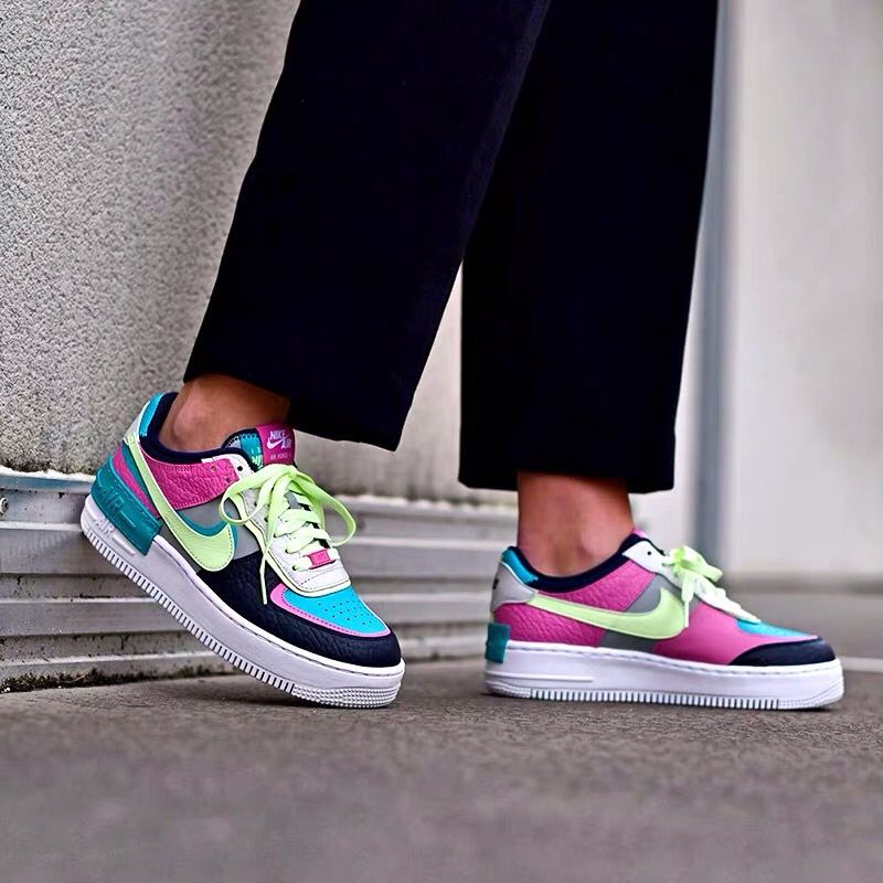 Google Nike Air Force Nike Air Force 1 Outfit Nike Air The nike air force 1 shadow releasing in aqua, pink and volt. google nike air force nike air force