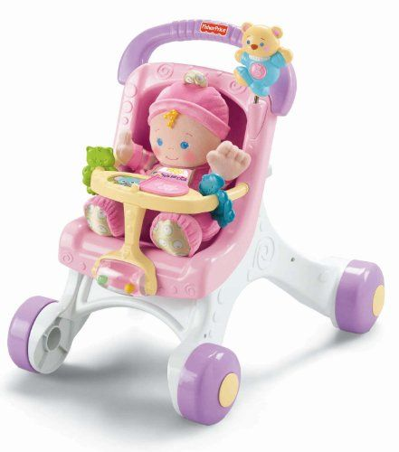 Fisher Price Stroller Walker For Girls  Baby Girl Toys -9616