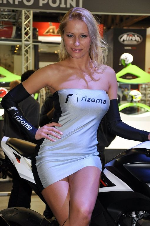 Milan International Motorcycle Exhibition EICMA 2012 - Pictures - Girls'n'Car