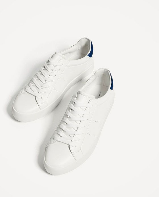 Image 4 of BASIC WHITE SNEAKERS from Zara  f70bba1c8814c