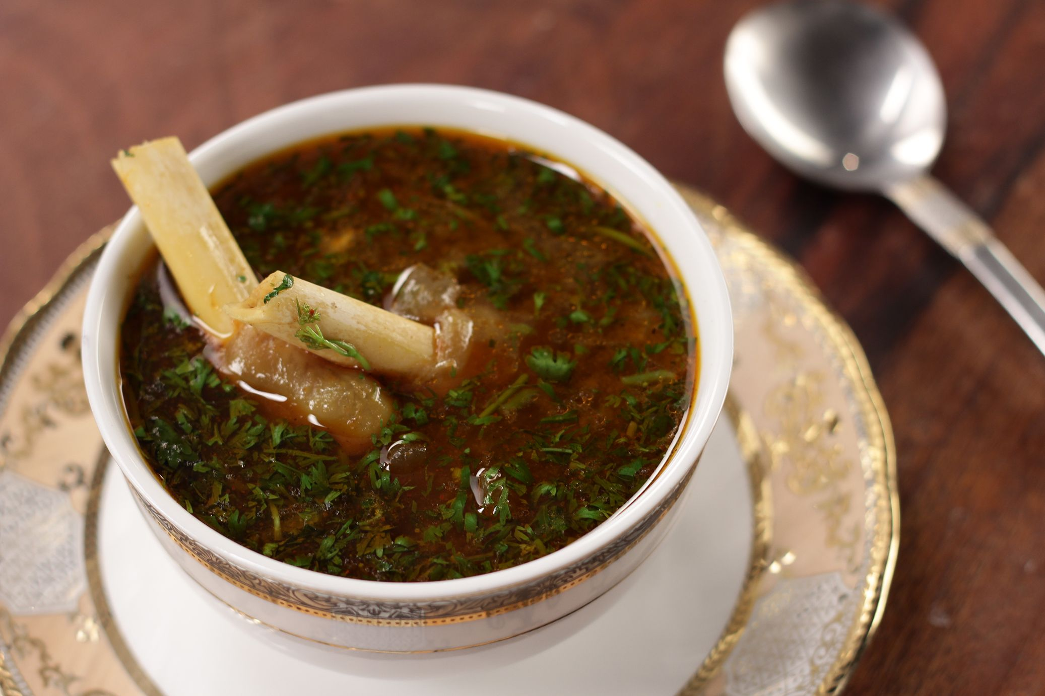 A warm bowl of paya soup this winter is the best feeling ...