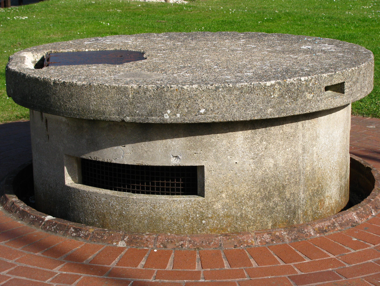 Pickett-Hamilton Fort, a retractable pill box 1940