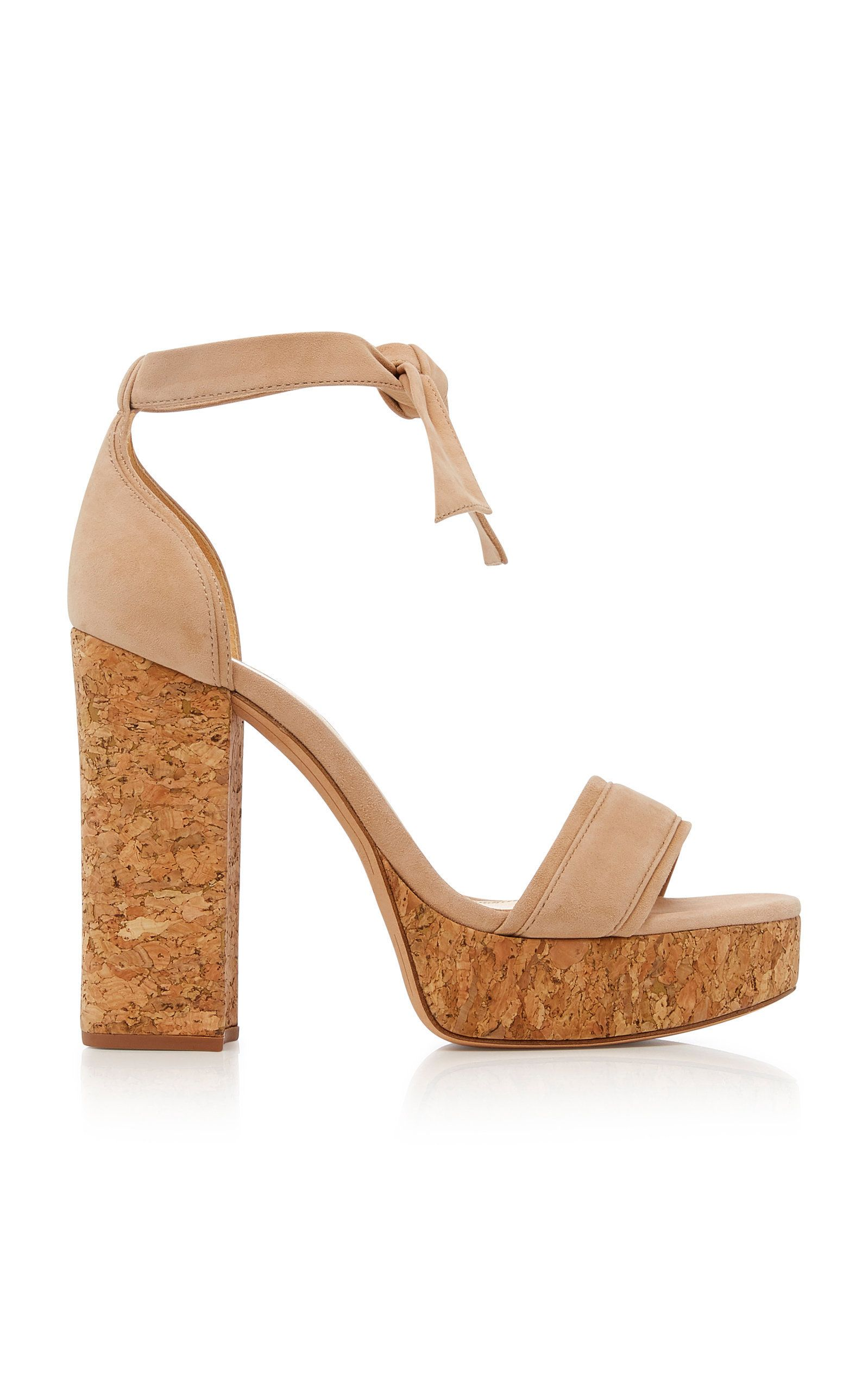 1b958299d33 ALEXANDRE BIRMAN CELINE PLATFORM SUEDE SANDALS.  alexandrebirman  shoes