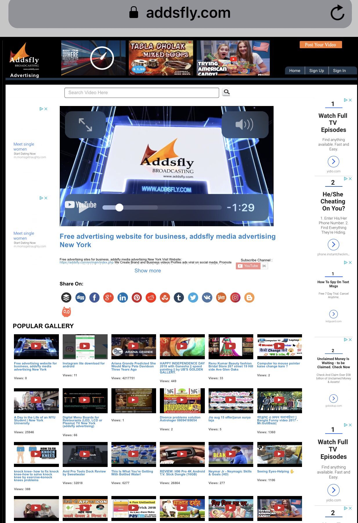 Free Advertising Website For Business Addsfly Media Advertising New York Addsfly Google Search Ht Corporate Videos Free Advertising Social Media Advertising