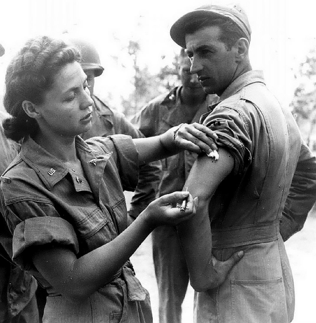 A United States Army nurse stationed in Australia