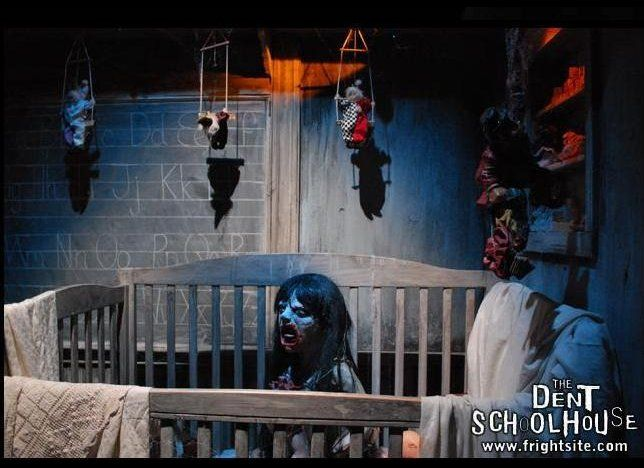 The dent schoolhouse is one of ohio 39 s best haunted houses for Halloween haunted room ideas