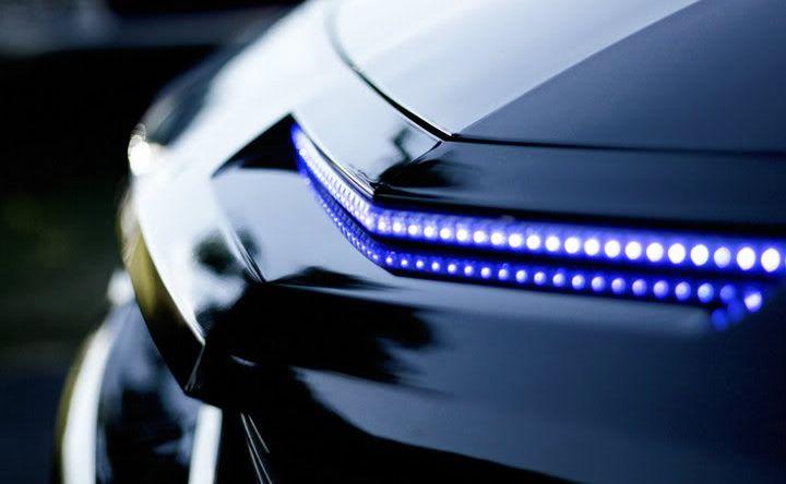 Jeep Wrangler White Blue Led Halo Ring Lights Auto Lights