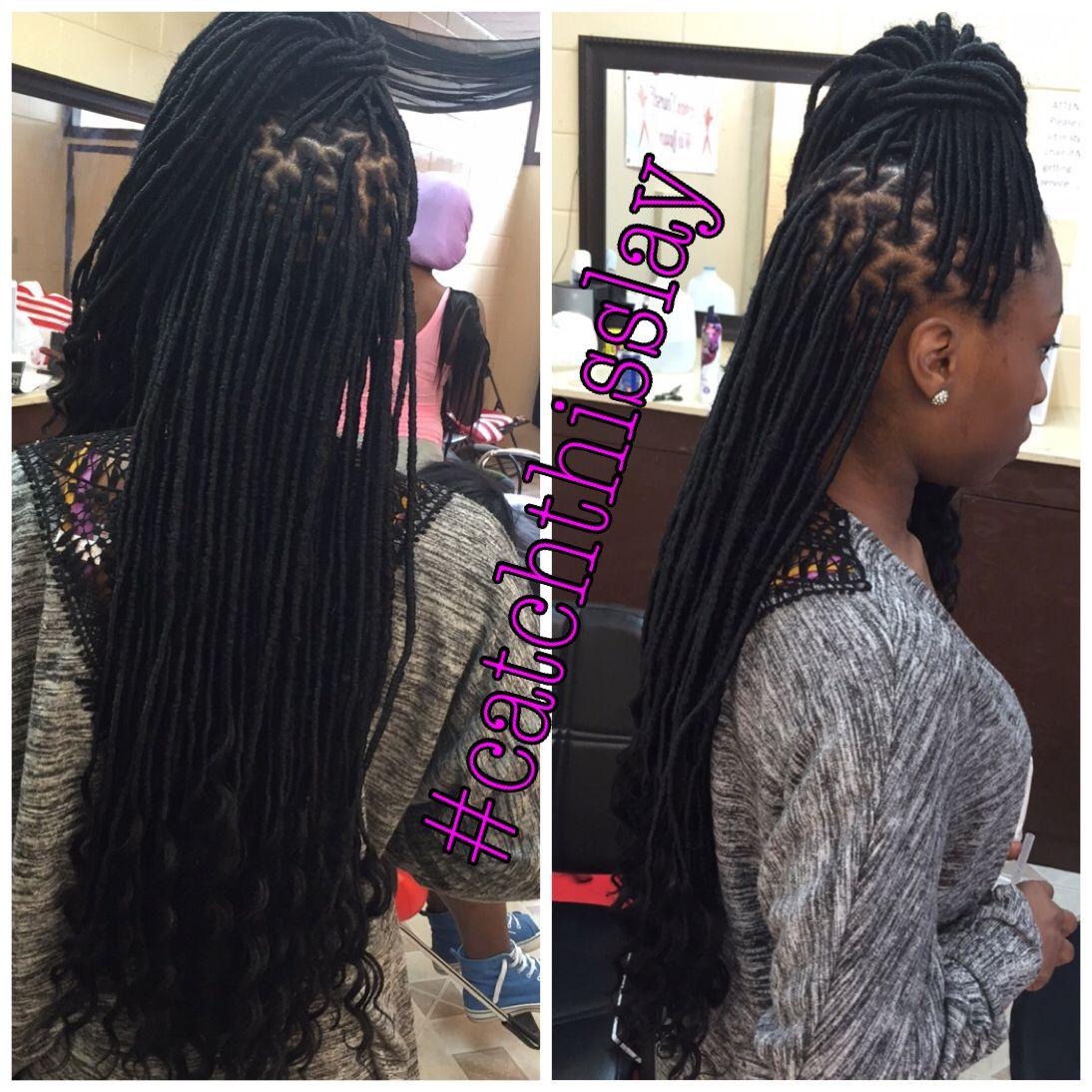 Snapchat Ogg Madieee Pinterest Goldeinee Hair Styles Faux Locs Hairstyles Braided Hairstyles