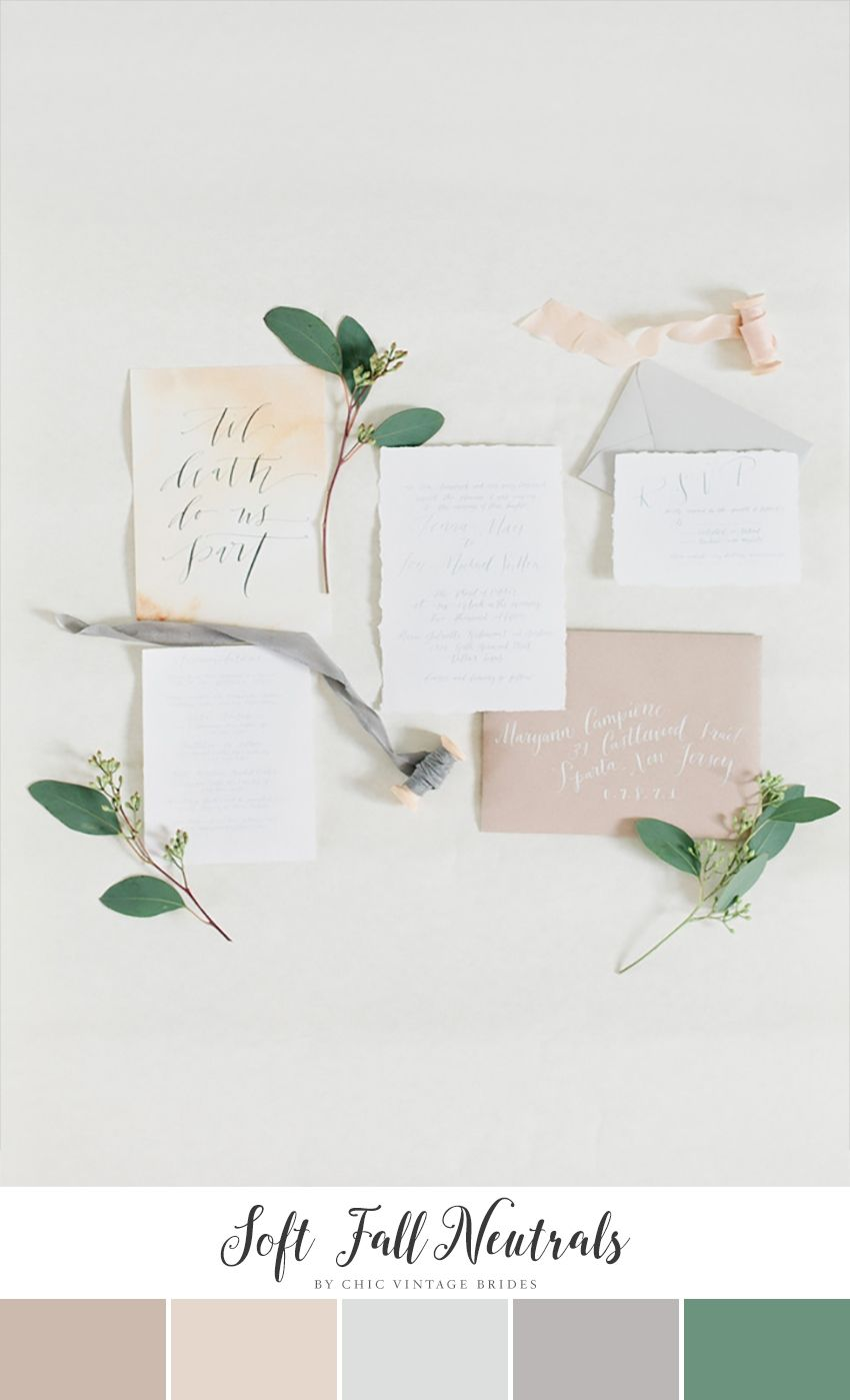 10 Stunning Autumn Wedding Colour Palettes | Brides, Grooms ...