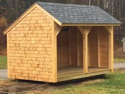 8 X 12 Cedar Sided Salt Box Roof Wood Shed Pressure Treated Flooring 3 300 00 Building A Shed Firewood Shed Wood Shed