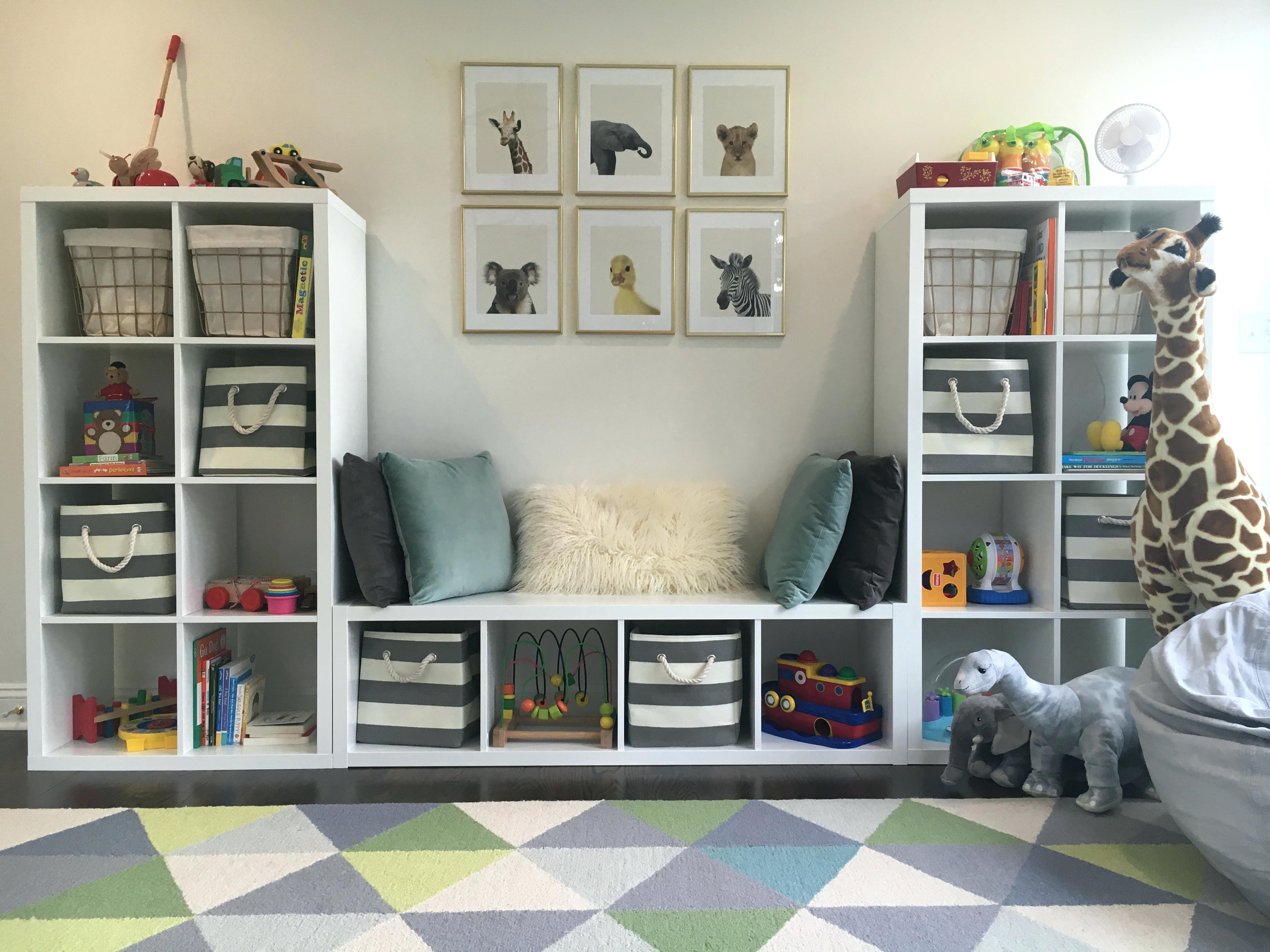 Childrens Kids 3 Tier Toy Bedroom Storage Shelf Unit 8: Image Result For Ikea Trofast Playroom