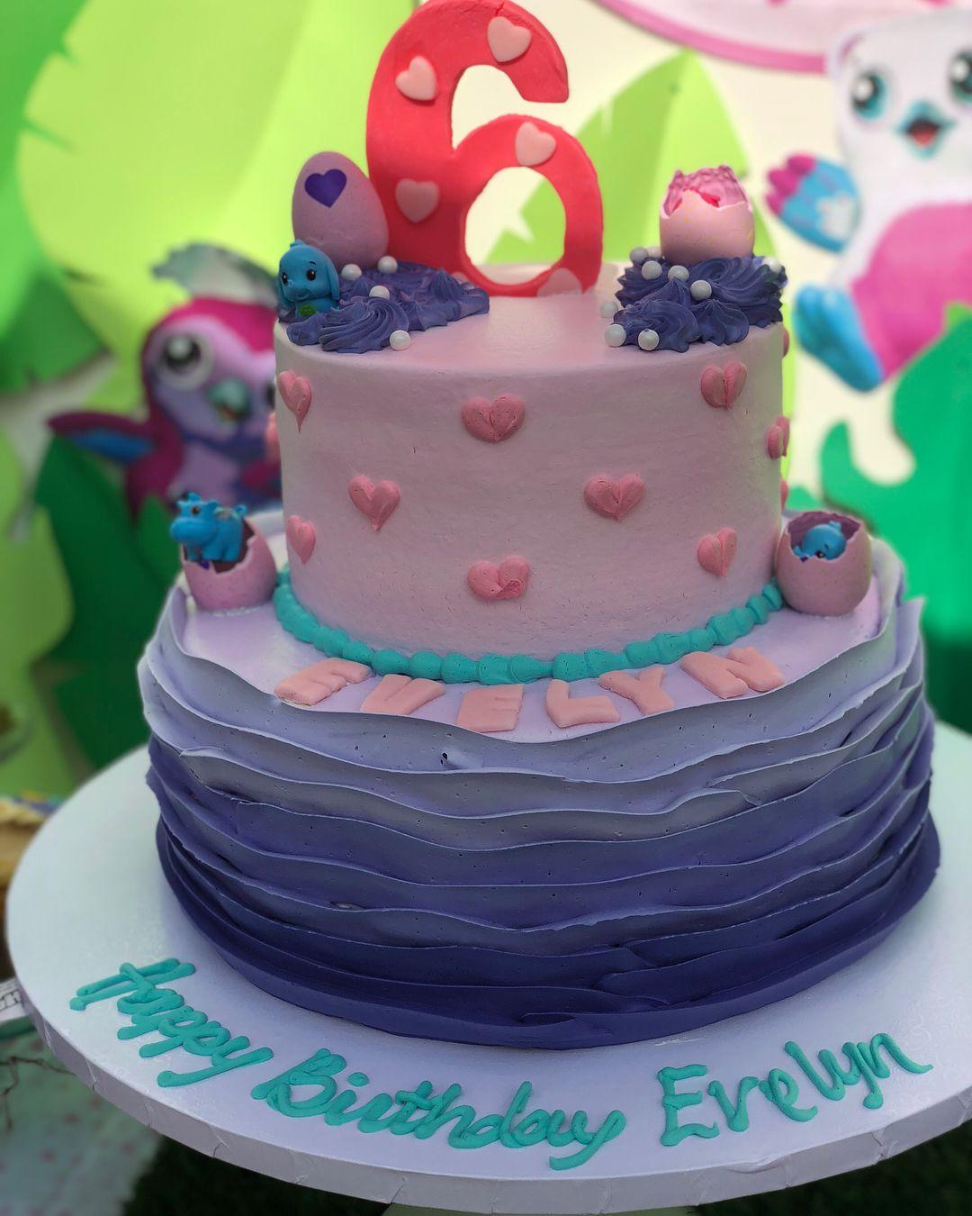 Hatchimal Birthday Cake
